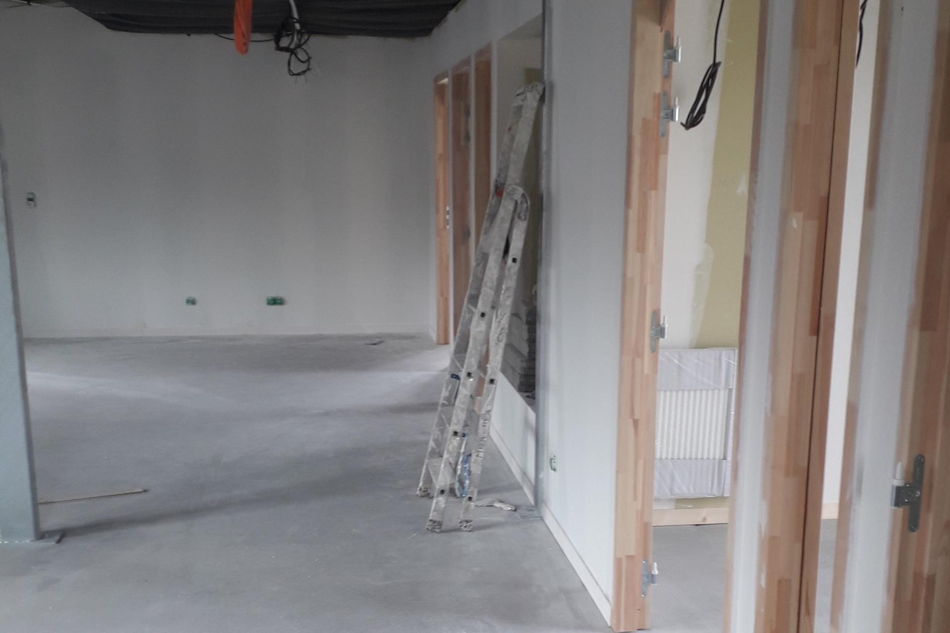 Hetet Construction Mise en place d'huisserie