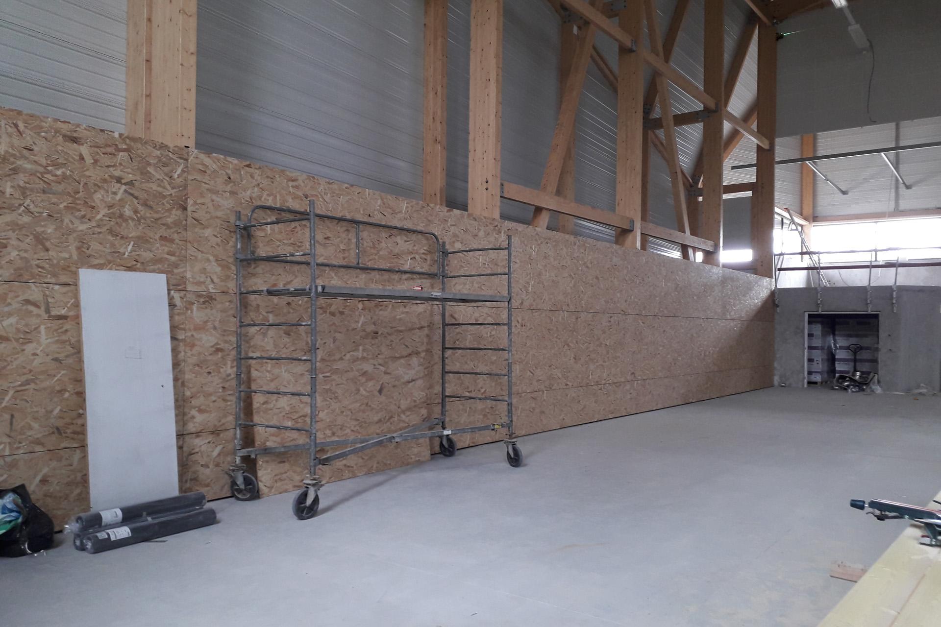Hetet Construction Salle des sports de Douarnenez