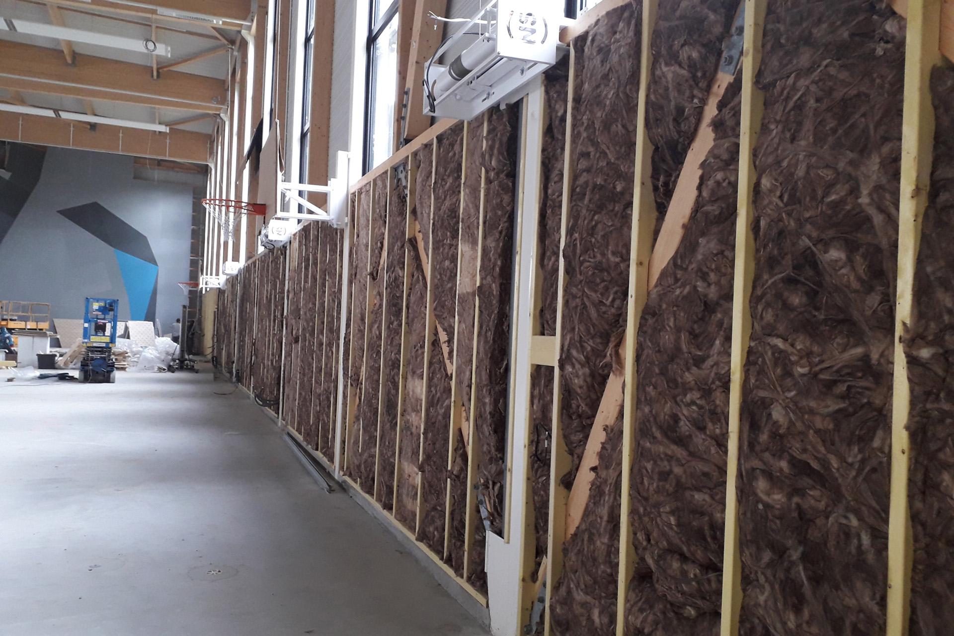 Hetet Construction Bardage intérieur avec isolant