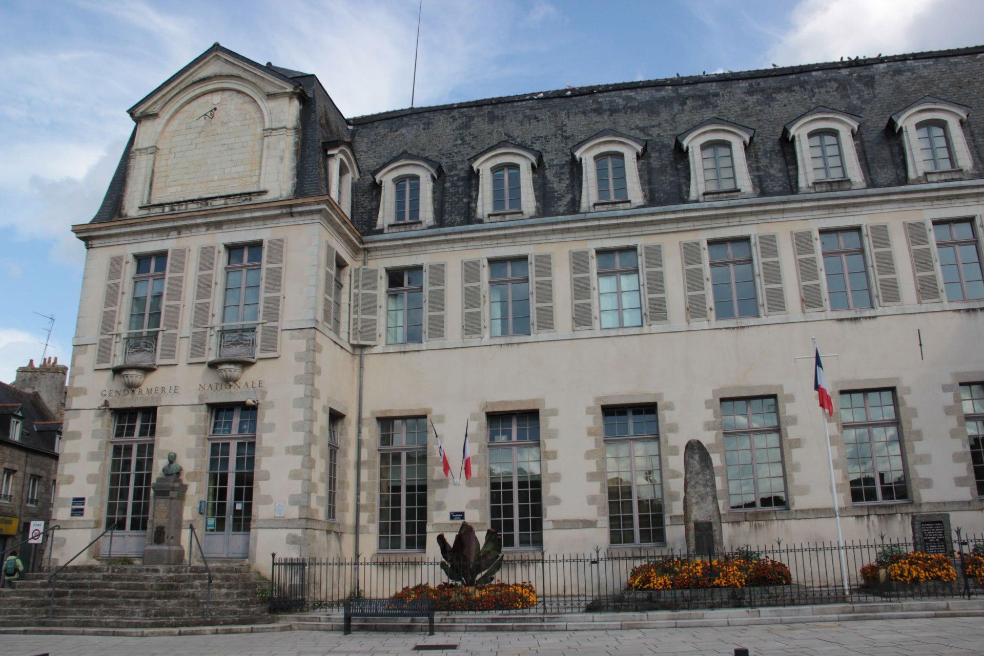 Hetet Construction Gendarmerie de Quimperlé