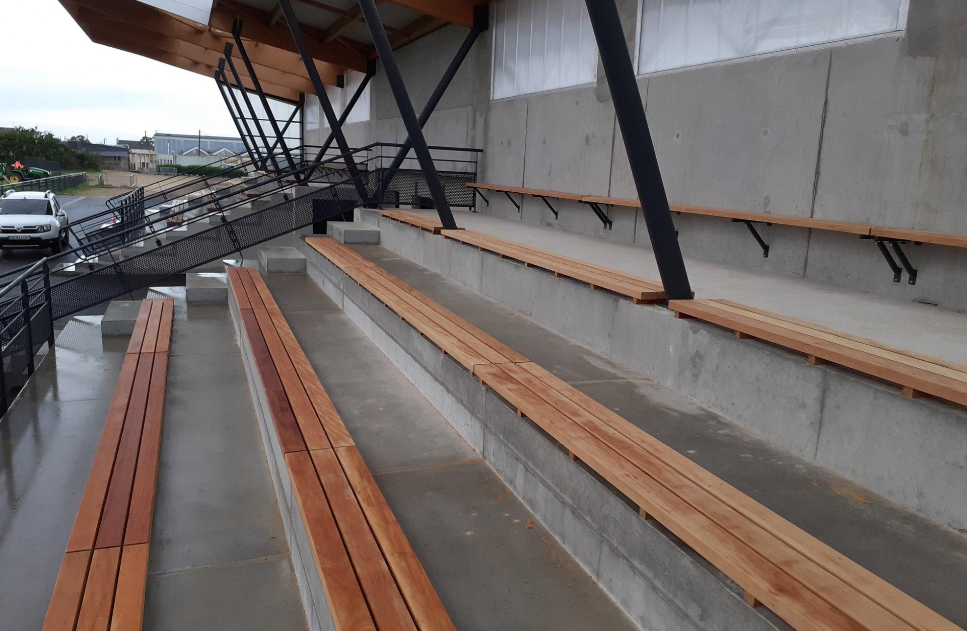 Hetet Construction Stade de foot de Plouhinec