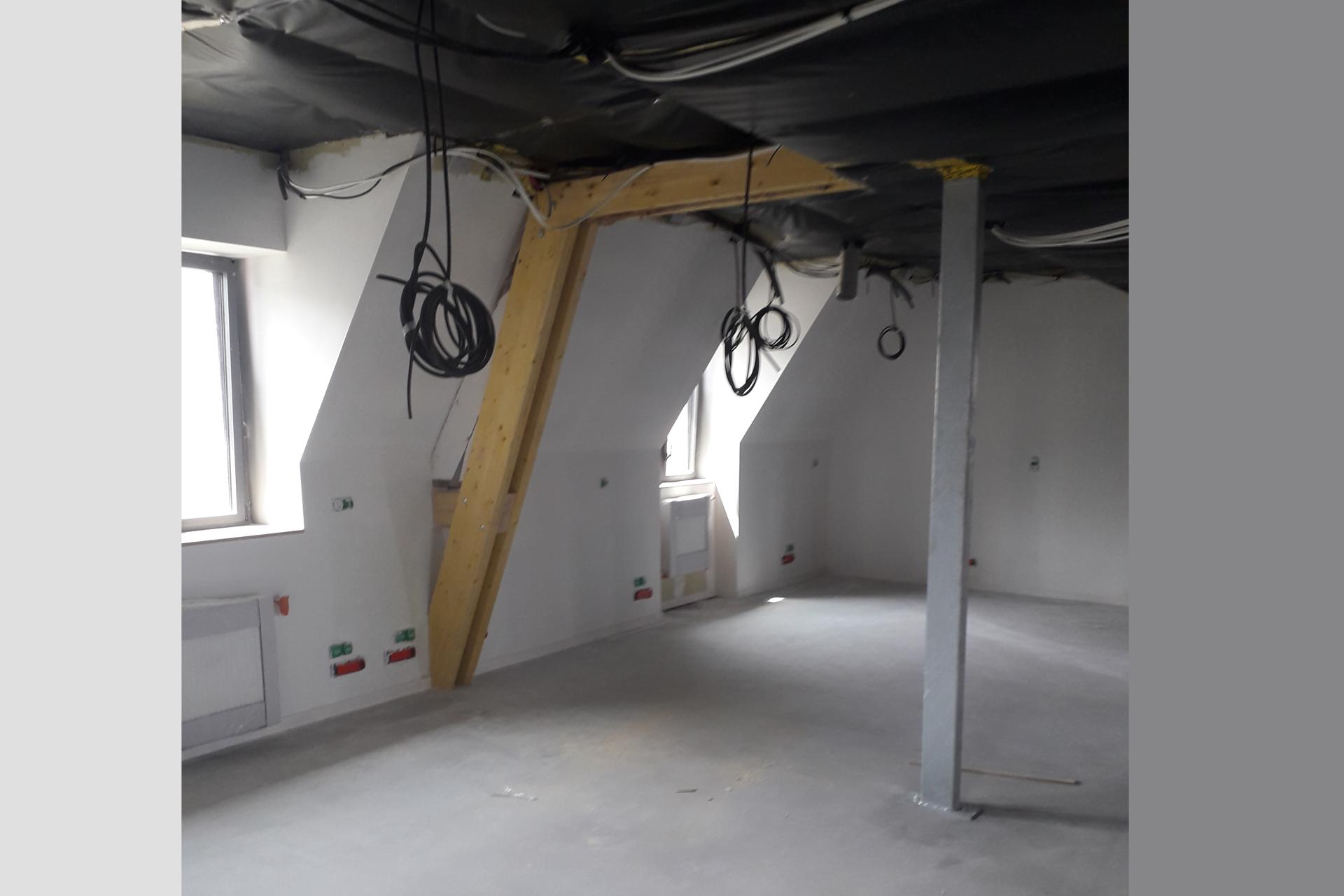 Hetet Construction Renforcement de la charpente existante